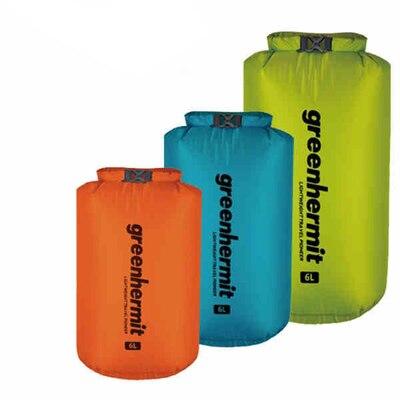 Ultraleicht-Dry Sack Wasserdichte Tasche Packsack 3L 6L 12L 24L 36L Multicolor 30D CORDURA Nylon Stoff Greenhermit OD1100