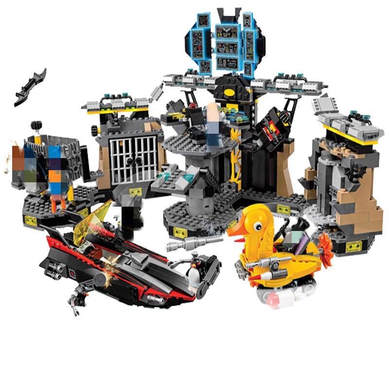 1047Pcs Compatible With Break in DC Super Heroes Batman Movie Building Block Toy For Children