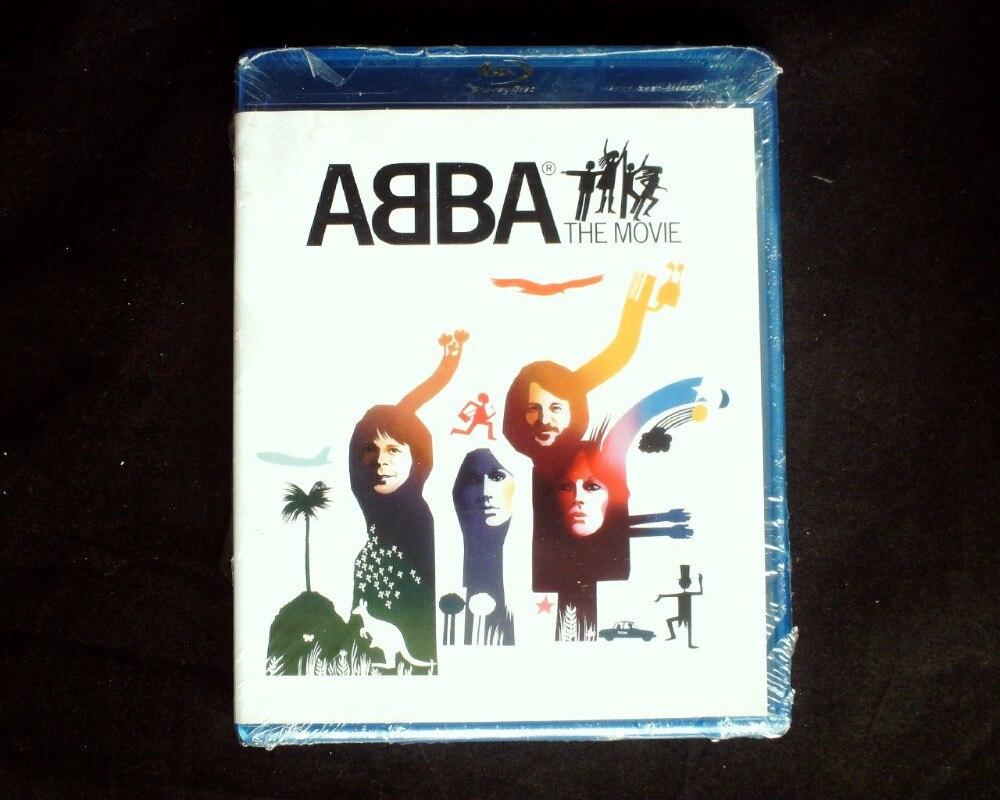 ABBA-Die Film Blu-ray Disc VERSIEGELTE DVD Region Alle