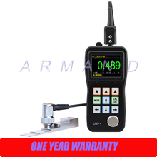 High Precision Ultrasonic Thickness Gauge Color screen UM-4 Poratble Digital Meter A-Scan Snapshot
