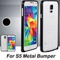 Verdadeiro s5 metal bumper ultra fina 0.7mm mobile phone bags & casos acessórios do telefone