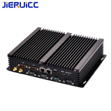 Core I3 i5 i7 Fanless Mini PC Windows 10 Industrial Computer desktop Nettop barebone system 6COM DUAL LAN Port 2 hdmi