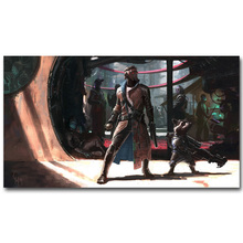 Guardian of The Galaxy Art Silk Fabric Poster Print 13×24 24x43inch Superheroes Movie Picture for Room Wall Decor 54
