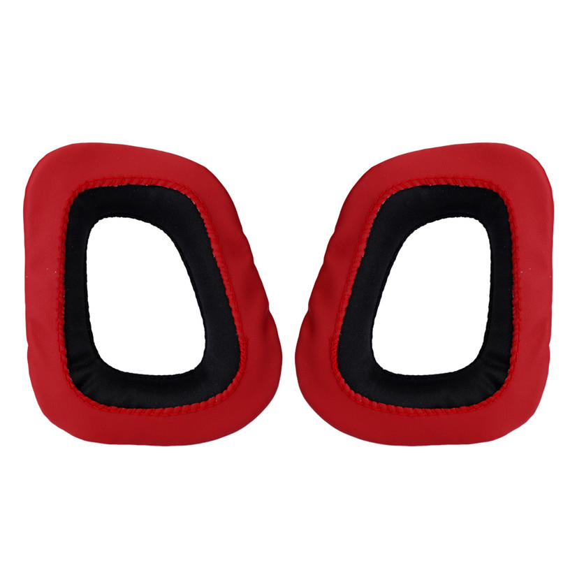 For Logitech Earpads for G230 G430 G930 G35 F450 Gaming Headset Black & Red BINMER Futural Digital F25