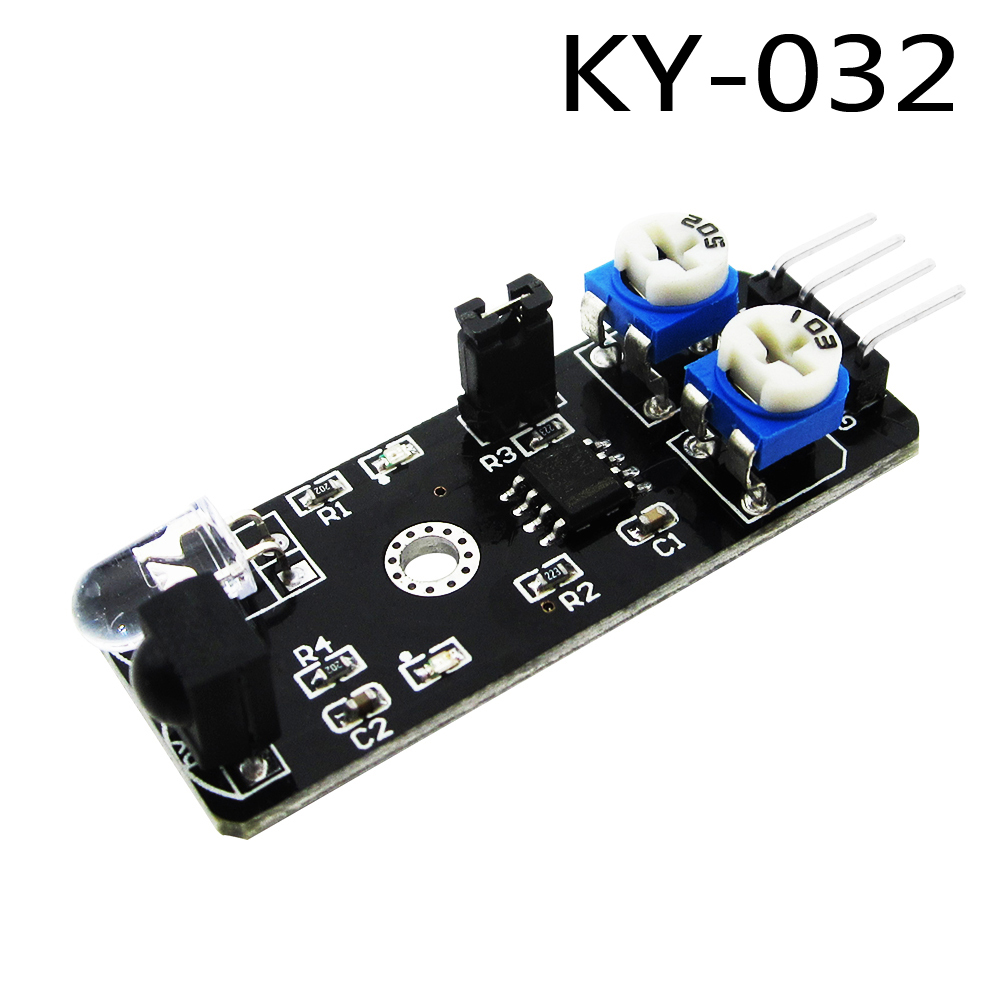 KY-032 4pin IR Infrared Obstacle Avoidance Sensor Module Diy Smart Car Robot KY032 51 single chip microcomputer intelligent tracking obstacle avoidance car 51 smart car kit diy infrared smart car production