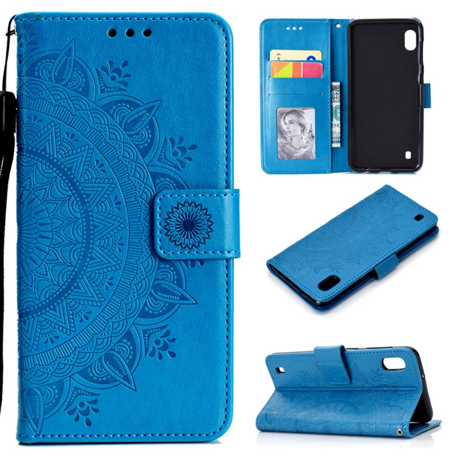 M10 Flip Case for Samsung Galaxy M10 Phone Cover Luxury PU Leather Case On For Samsung Galaxy M10 M105F M105 Wallet Case