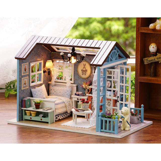 Modellino casa in legno rj14 regardsdefemmes - Casa in legno fai da te ...