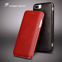 For IPhone Xs Max XR Genuine Leather Case Business Man Magnetic Snap Flip Phone Case for IPhone XR 6 7 8 Plus Phone Cover Coque