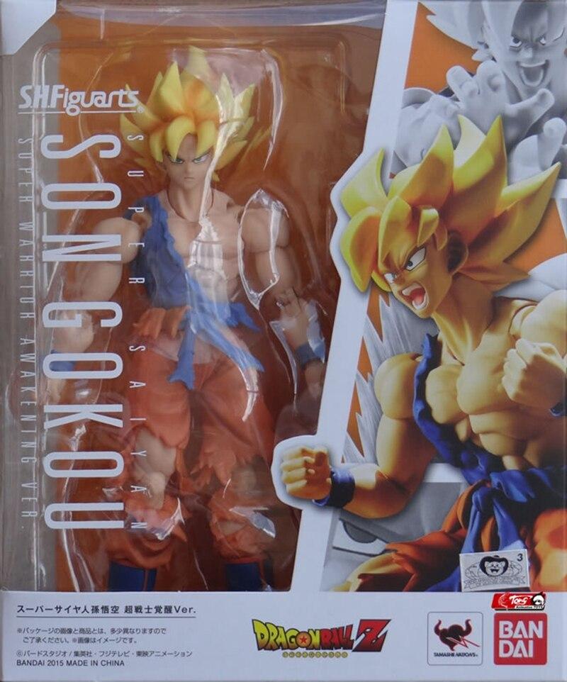 WSTXBD Original BANDAI S.H.Figuarts SHF Wake Goku 2.0 Action Figure Brinquedos Dolls Toys Figurals цена 2017