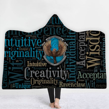 Magic Hooded Blanket For Home Travel Picnic 3D Printed Wearable Blanket For Sofa Portable Warm Throw Blanket For Adults Childs halloween hooded blanket for home travel picnic 3d printed portable warm blanket for sofa wearable throw blanket for adults kids