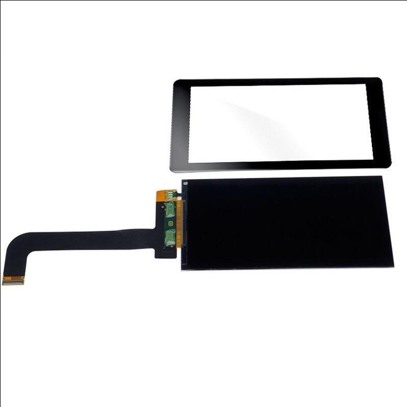 Tela lcd 5.5*2560 de 1440 polegadas 2k, painel de tela lcd para impressora 3d wanhao duplicador d7