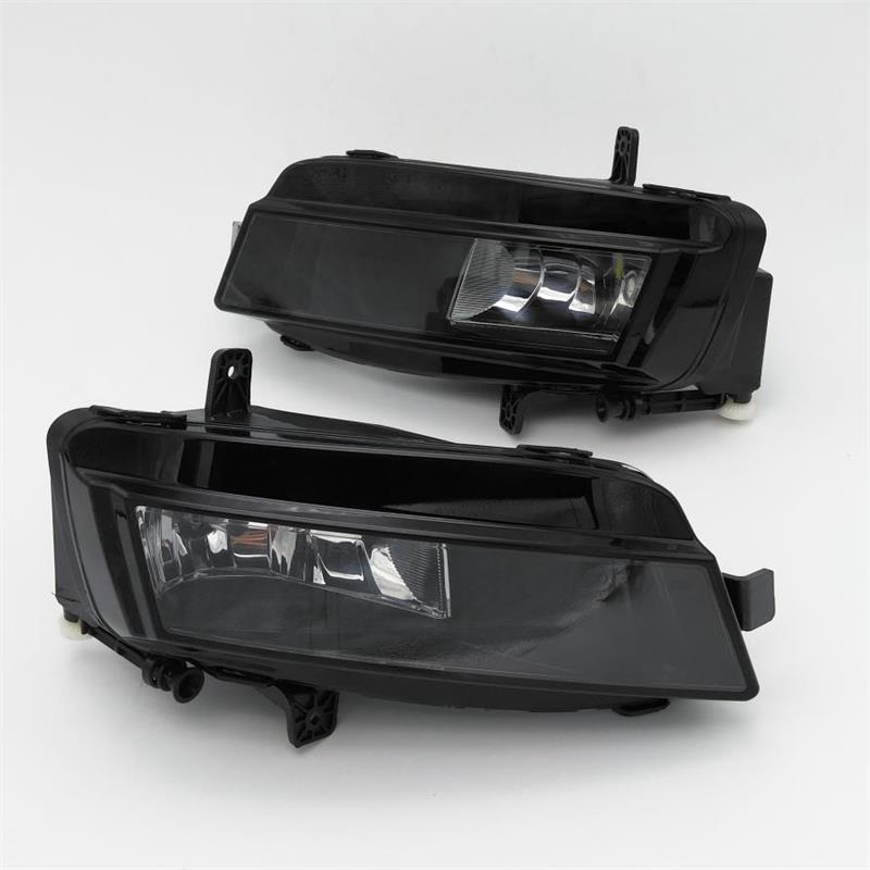 Car Light For VW Golf 7 GOLF MK7 VII TDI GTI TGI TSI 2012 2013 2014 2015 2016 2017 Car-styling Fog Light Fog Lamp With Bulbs real carbon fiber mirror cover case for vw golf 7 mk7 gti tsi vii jdm 2013 2015 [1031001]