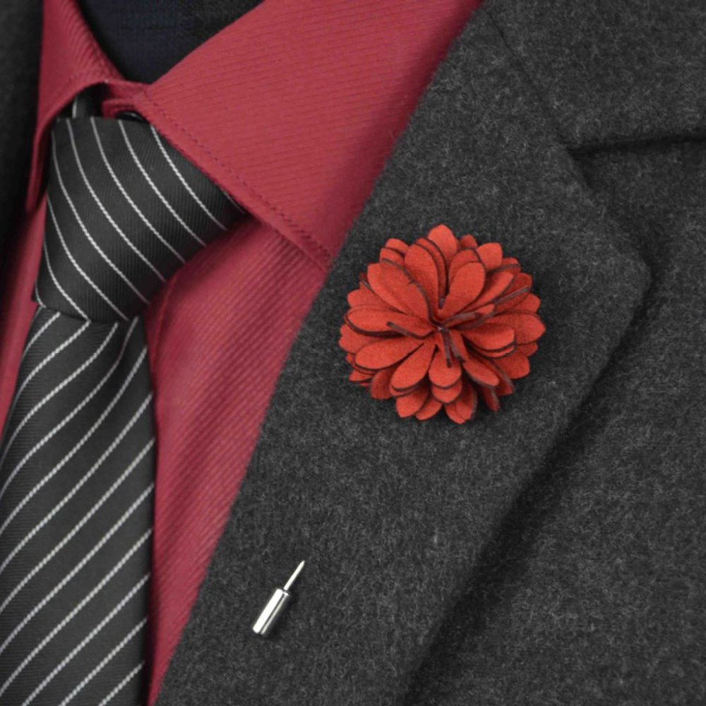 Handmade Men 39 S Vintage Lapel Flower Pin Lapel Stick Pin
