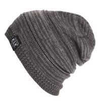 Women Men Unisex Knitted Winter Cap Casual Beanies Solid Color Hip-hop Skullies beanie Hat Gorro