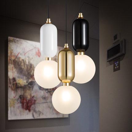 Palla di vetro paralume lampadario cucina illuminazione domestica ...