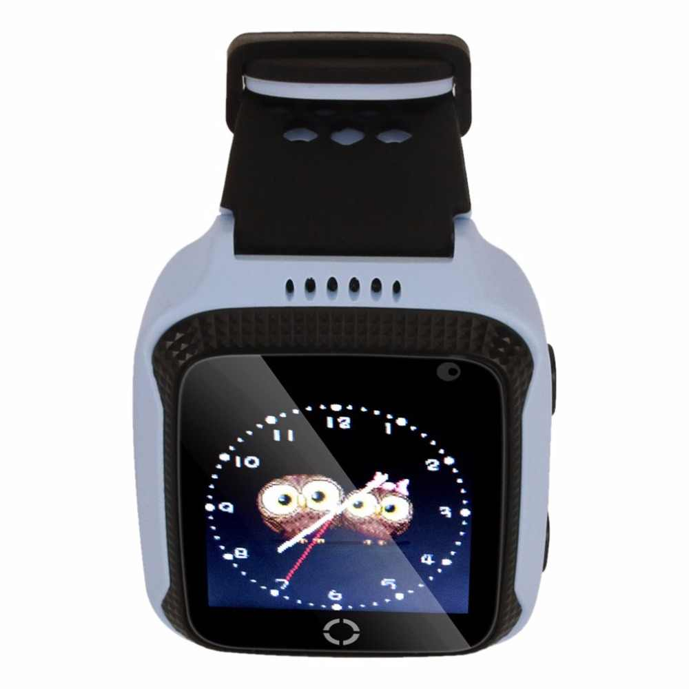 Q528 Children Anti-Lost GPS Smart Watch Kids SOS Call Location Tracker Wristwatch Baby Safe Guard English Languages