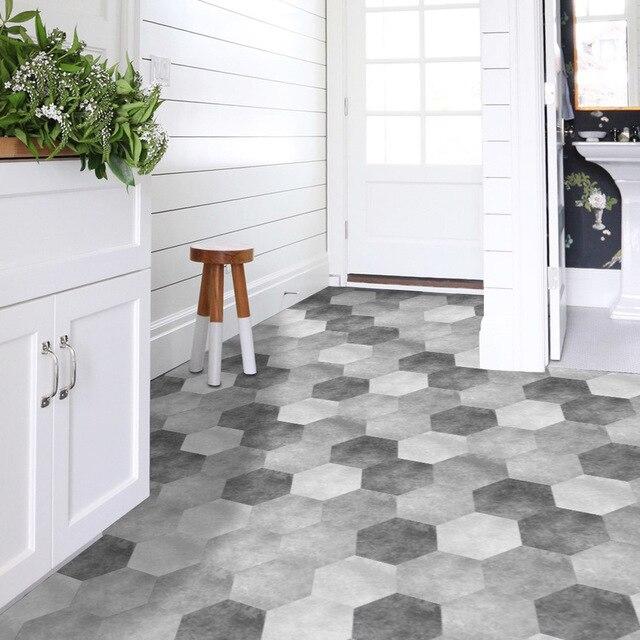 Funlife wodoodporna podłoga łazienki naklejki, Peel Stick samoprzylepne płytki podłogowe, kuchnia pokój dzienny wystrój antypoślizgowe podłogi naklejka