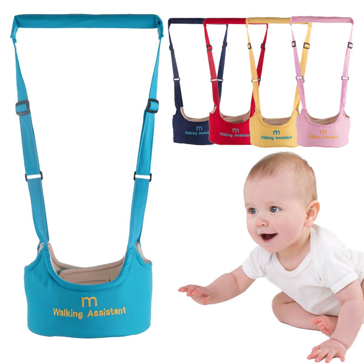 New Arrival Baby Walker Baby Harness Assistant Toddler Leash For Kids Learning Walking Baby Belt Child Safety Dropship
