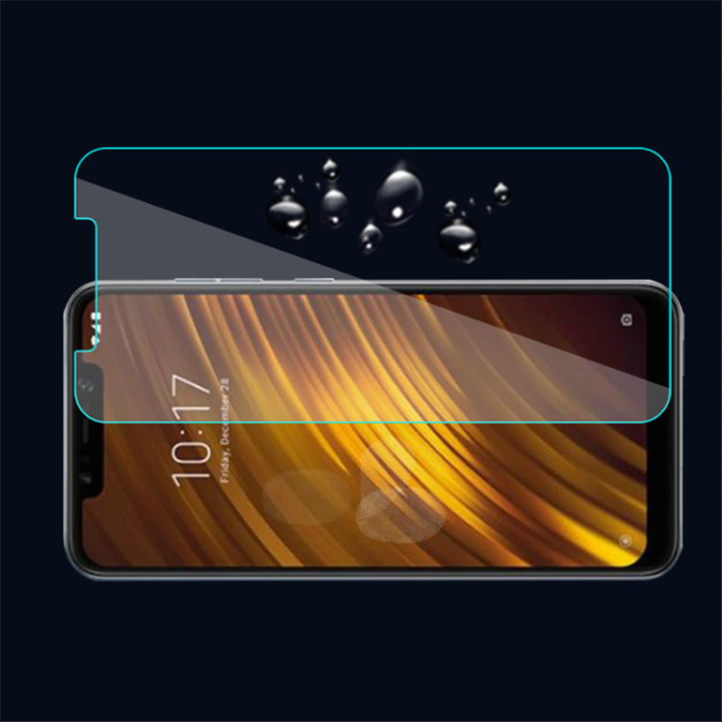 50PCS For pocophone f1 Screen Protector tempered glass 9H Tempered Glass for xiomi for redmi 6pro glass Wholesaler for Xiaomi 8