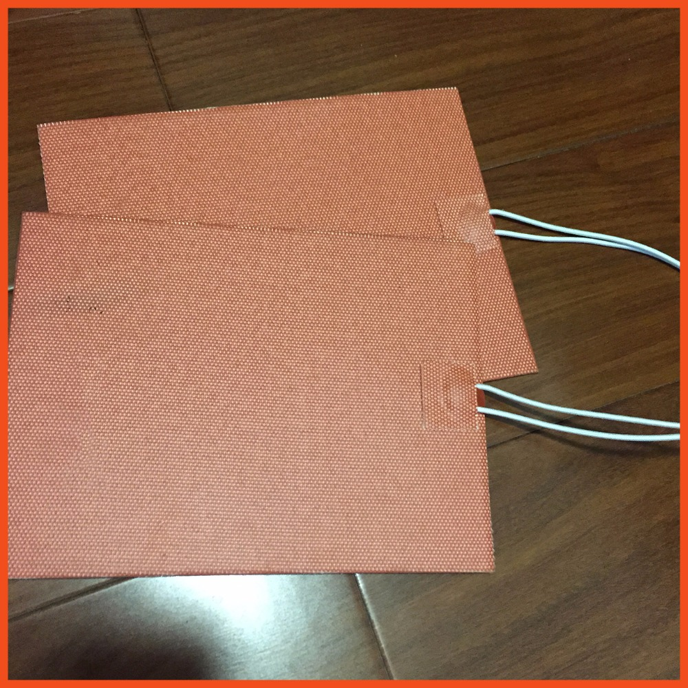 150mmX254mm 300W 120V,Universal Flexible Silicone Heater Pad tools ,Custom Design Welcome size Silica gel electric heating plate 200mm x 200mm 500w 110v ntc 100k custom design size silicone heater 3d printer heating auxiliary heating of oil pan tools film