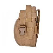 Tactical Gear Universal Gun Belt Holster Nylon Adjustable Concealment Belt Holster Hunting Shooting Gun Carry Pouch ultrafire nylon flashlight holster w belt clip black