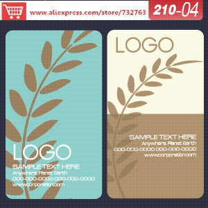 Aliexpress.com : Buy 0210 04 business card template for limited ...