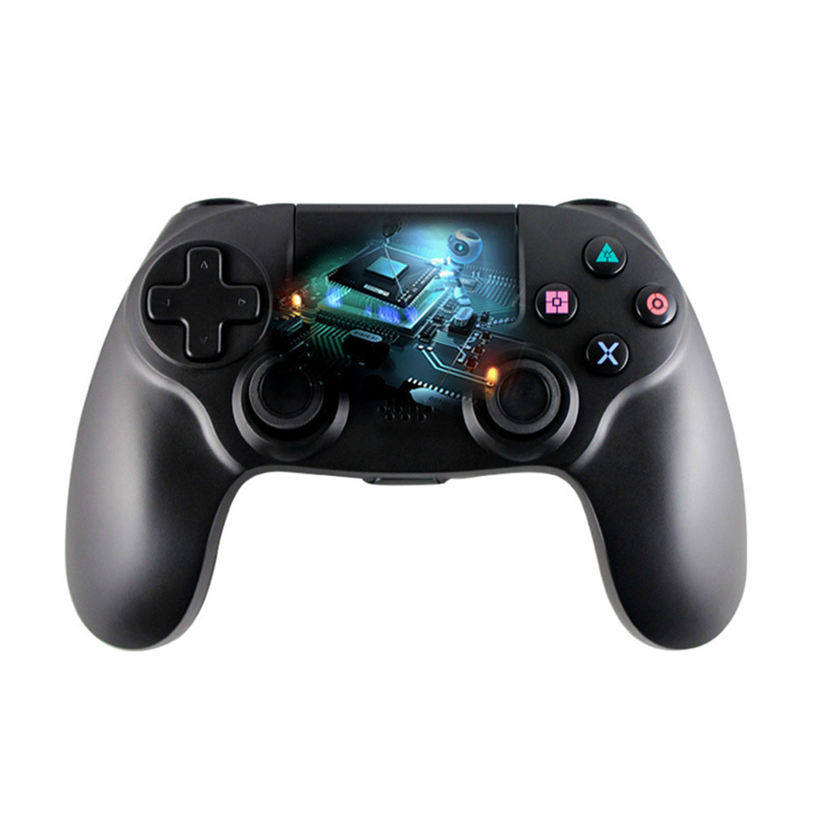 Wireless Bluetooth Gamepad for PS4 Controller Console DualShock Game Joystick for Playstation 4 for Sony 1pcs black wireless game gaming bluetooth chatpad message keyboard for sony for playstation 4 for ps4 controller with usb cable