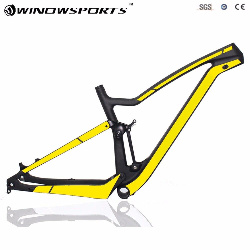 Black yellow logo 29er design-802c-12