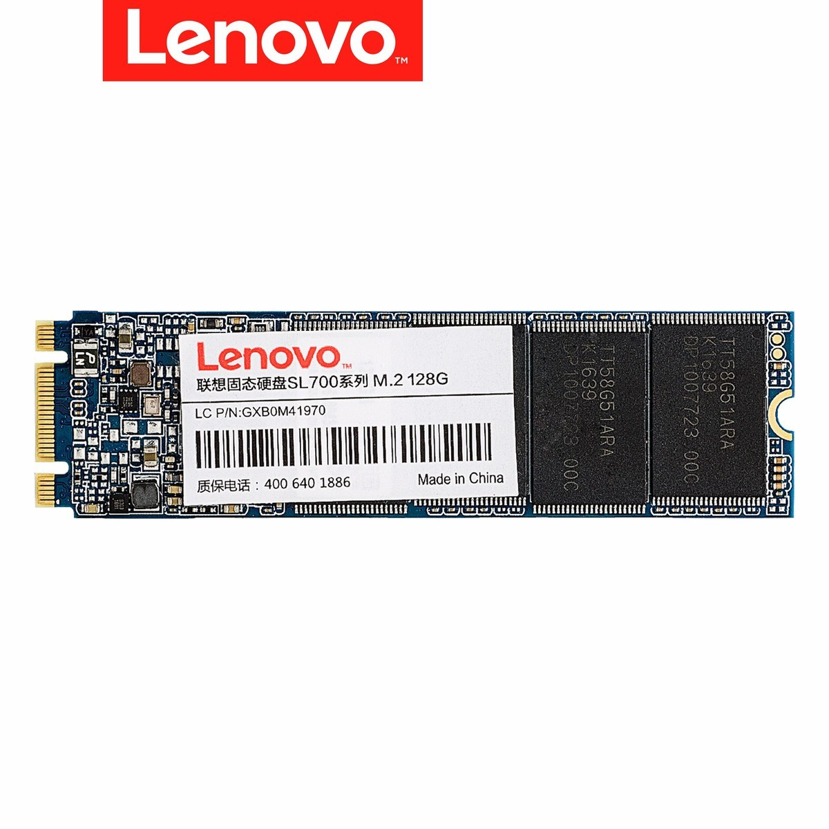 Original Lenovo SL700 M.2 NGFF 2280 128GB 256GB Internal solid State Drive upgrade for Gamer SSD High quality 3 Years warranty all 2 in 1 msata to sata ngff m 2 to sata iii sata3 converter adapter support msata m 2 ngff ssd solid state disk for desktop