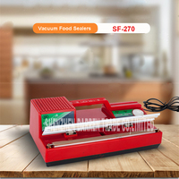 SF 270 220V Household Food Vacuum Sealer Packaging Machine Film Sealer Vacuum Packer 300W manual sealing machine