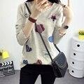 Из Буру Yi кормления одежда топы 2016 Hitz печати случайный с длинными рукавами футболки для беременных женщин