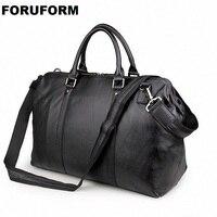 2018 винтажная Дорожная сумка из натуральной кожи, мужская спортивная сумка, дорожная сумка для багажа, большая мужская кожаная сумка для пут