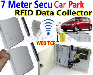 Vehicle-Barrier Access Ip-Controller Car-Parking-Rfid Gate-Data/record Web RS485 7-Meters
