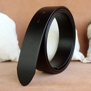 Image 2 - Sem fivela de 3.3 cm e 3. cintos de 8cm para homens de alta qualidade fivela de pino cinta masculina cintura de couro genuíno ceinture homme