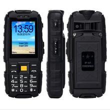 5000 мАч большой Батарея Мощность Bank Мобильный телефон cagi XP3300 с фонариком и большие кнопки Две сим-карты gsm Русский в наличии