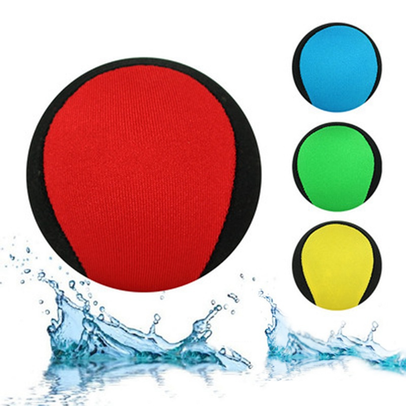 Water Bouncing Ball Anti-cracking Bouncy Ball Sports Splash Water Skim Ball Water Sports Game Toy GMT601