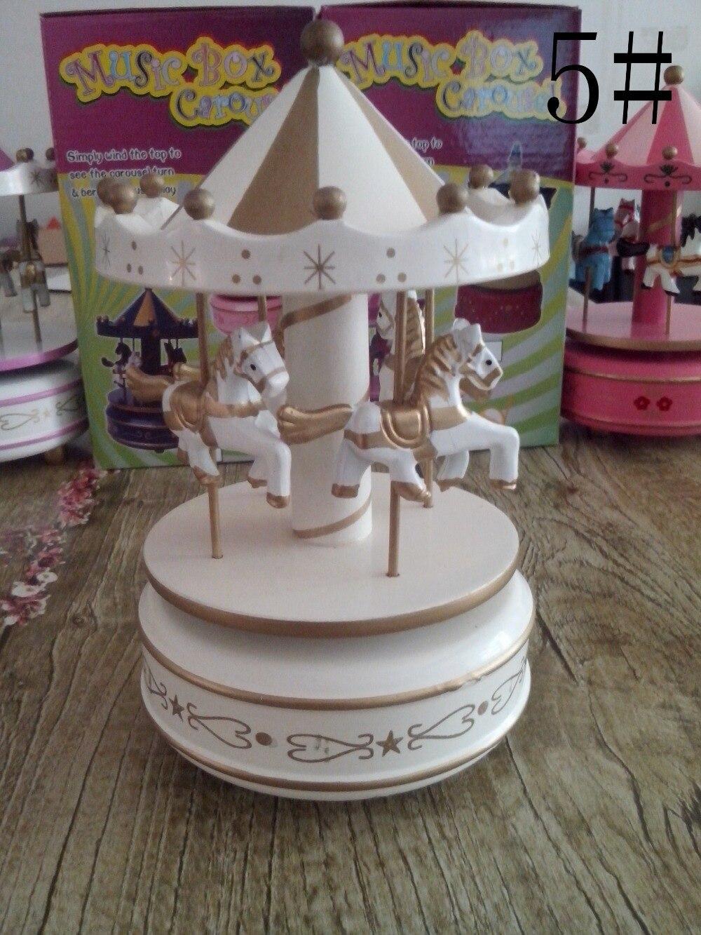 Wedding Gift Music Box : Carousel Music Box Music Box Laputa wedding gift Home Decoration ...