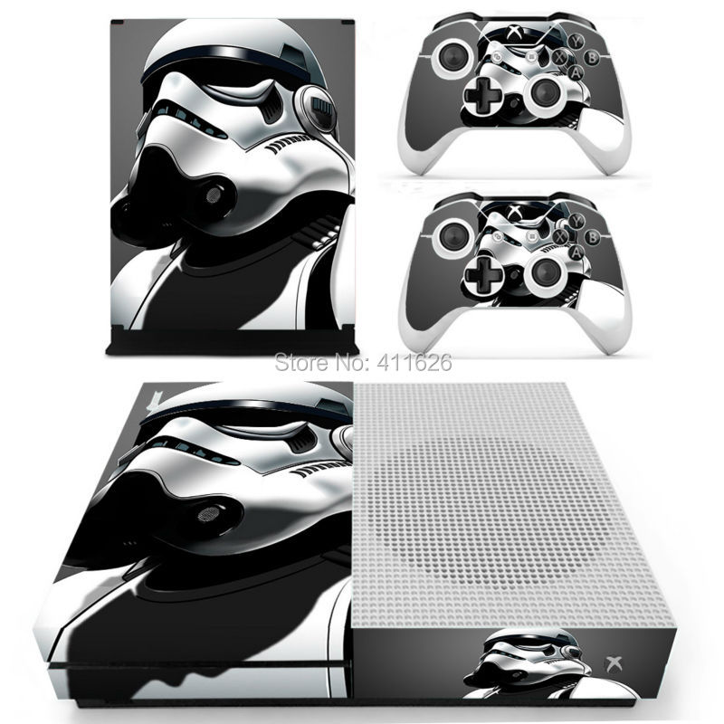 Star Wars Vinyl Decal Skin Stickers for Xbox One Slim Console & Controllers free shipping
