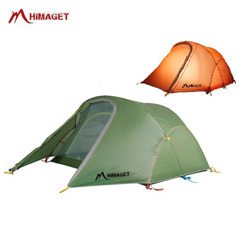 купить HIMAGET Ultralight Outdoor Tent 2 Person Double Layers 20D Nylon Coated Silicon Hiking Camping Tent For Tourism Beach по цене 10784.06 рублей