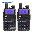 Baofeng uv-5r walkie taklie transceptor dual band 136-174/400-520 mhz rádio em dois sentidos portátil equipamentos de comunicação de rádio
