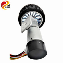 ONE Set of Car Parts included 25mm Motor,65mm Wheel/Tyre, Coupling,Motor Bracket for DIY RC Wheeled Car Chassis