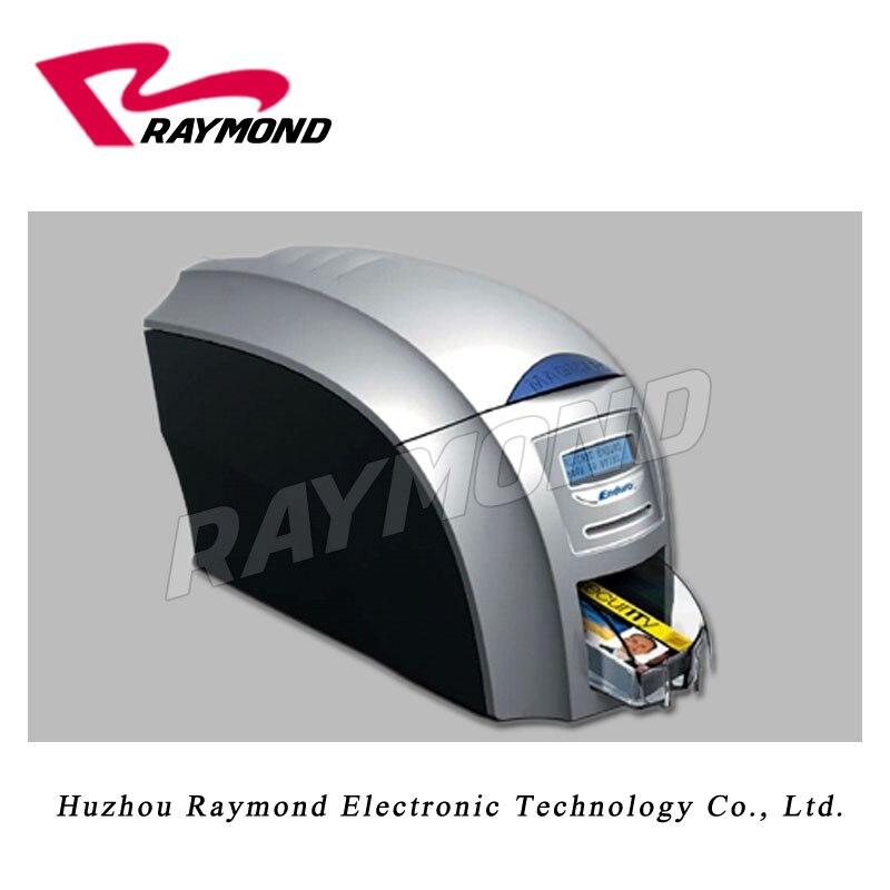 Magicard enduro3E  dual-sided id card printer  with two SIJUJI RM300 YMCKO ink  ribbon