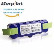 Morpilot 3800 мАч 14.4 В xlife продлен 1000-круги Ni-MH Батарея для IROBOT Roomba 500 600 700 800 500 510 530 531 570 580 595
