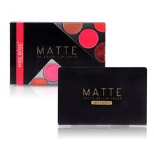 Miss Rose 15 Colors Matte Lipstick Palette Waterproof Nutrit