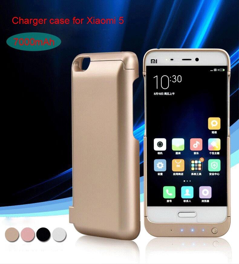 imágenes para Cargador para Xiaomi 5 Mi5/Xiaomi Mi5 Pro Primer/Mi5 Pro Tipo C Caso Banco de la Energía Externa Portátil de Batería Externa batería