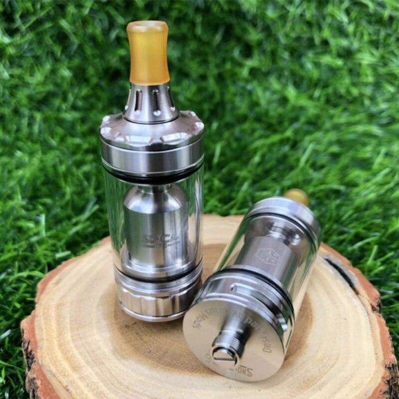 Spica Pro Style MTL RTA atomiseur reconstructible diamètre 22mm capacité 3 ml pour Cigarette électronique vaporisateur Vape stylo vs kayfun