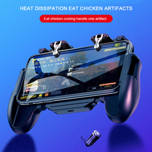 Get more info on the Mobile Phone Gaming GamePad Cooler Cooling Fan Fire PUBG Mobile Game Controller Gamepad Joystick Metal L1 R1 Trigger for IOS