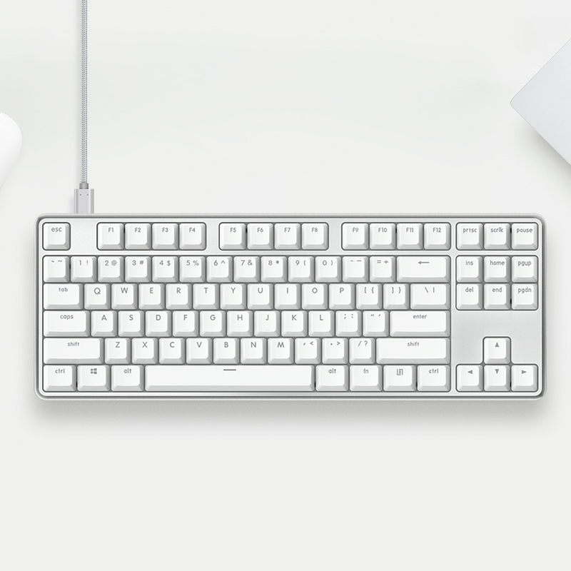 Original XiaoMi Yuemi Pro MK02 87 Keys NKRO Cherry Switch Detachable USB Wired Mechanical Keyboard
