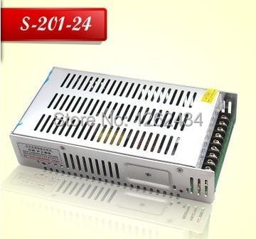 S-201-24 LED 24V 24v8.3A 200W power supply monitoring power switch power supply