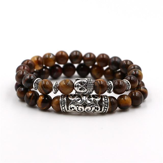 Bracelet Bouddha Oeil De Tigre